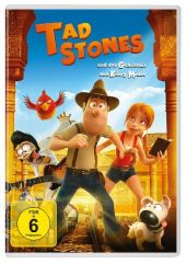 Tad Stones und das Geheimnis von König Midas, 1 DVD Cover