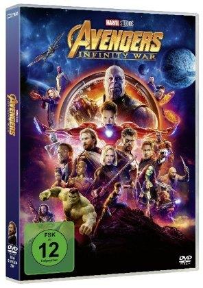 Avengers: Infinity War, 1 DVD
