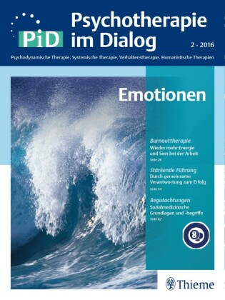 Psychotherapie im Dialog - Emotionen