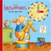 Leo Lausemaus lernt die Uhr Cover