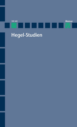 Hegel-Studien / Hegel-Studien Band 39/40