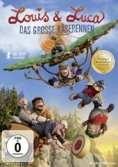 Louis & Luca - Das große Käserennen, 1 DVD Cover