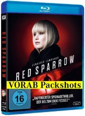 Red Sparrow, 1 Blu-ray Cover