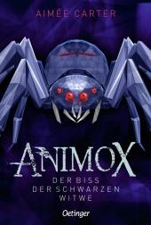 Animox. Der Biss der Schwarzen Witwe Cover