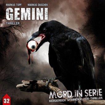 Mord in Serie - Gemini, 1 Audio-CD