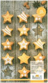 Mini-Cakes Stars klein