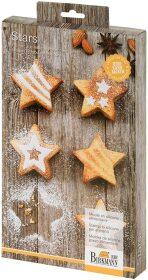 Mini-Cakes Stars mittel