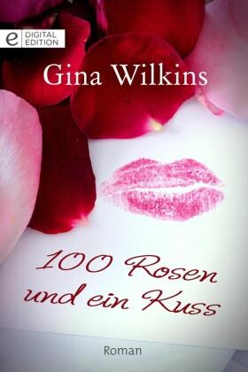 100 Rosen und ein Kuss
