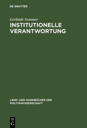 Institutionelle Verantwortung