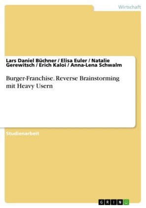 Burger-Franchise. Reverse Brainstorming mit Heavy Usern