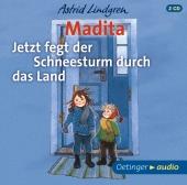 Madita - Jetzt fegt der Schneesturm durch das Land, 2 Audio-CDs Cover