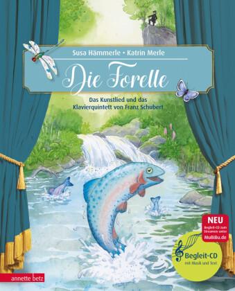 Die Forelle, m. Audio-CD