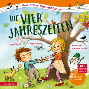 Die vier Jahreszeiten. m. Audio-CD