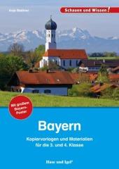 Bayern - Kopiervorlagen und Materialien Cover