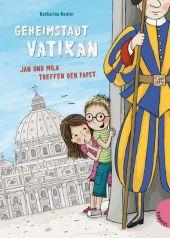 Geheimstadt Vatikan Cover
