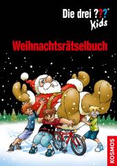 Die drei ??? Kids - Weihnachtsrätselbuch Cover