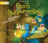 Gloria Glühwürmchen - Zauberhafte Glitzernächte, 2 Audio-CDs