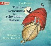 Theo und das Geheimnis des schwarzen Raben, 3 Audio-CDs Cover