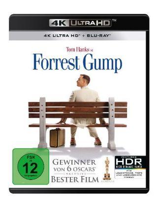 Forrest Gump 4k 2 Uhd Blu Ray 5053083156978 Filme Spiele