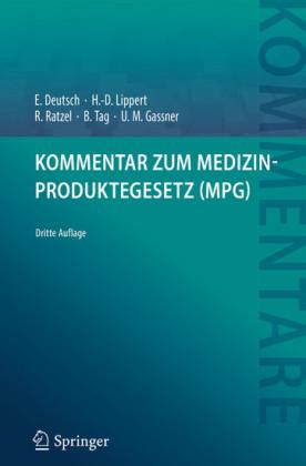 Kommentar zum Medizinproduktegesetz (MPG)