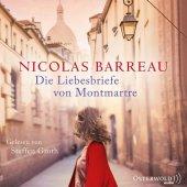 Die Liebesbriefe von Montmartre, 6 Audio-CDs Cover