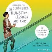 Die Kunst des lässigen Anstands, 8 Audio-CDs Cover