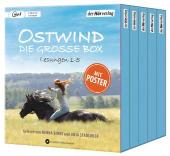 Ostwind. Die große Box, 5 MP3-CDs