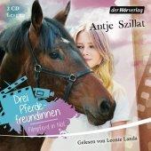 Drei Pferdefreundinnen - Filmpferd in Not, 2 Audio-CDs Cover