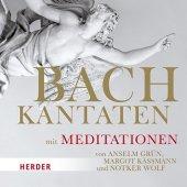 Bach-Kantaten mit Meditationen von Anselm Grün, Margot Käßmann und Notker Wolf, 3 Audio-CDs Cover
