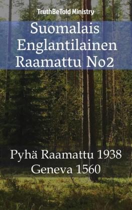 Suomalais Englantilainen Raamattu No2