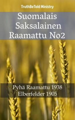 Suomalais Saksalainen Raamattu No2
