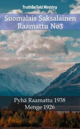 Suomalais Saksalainen Raamattu No3
