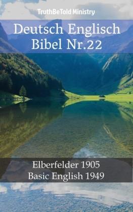 Deutsch Englisch Bibel Nr.22