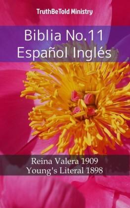 Biblia No.11 Español Inglés