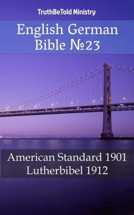 English German Bible 23