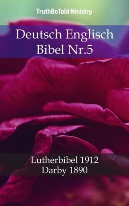 Deutsch Englisch Bibel Nr.5