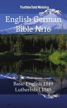 English German Bible 16