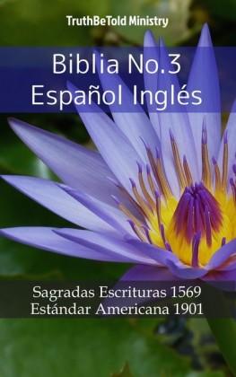 Biblia No.3 Español Inglés