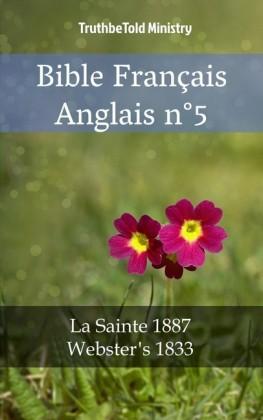 Bible Français Anglais n°5