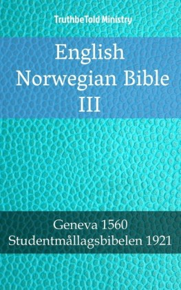English Norwegian Bible III