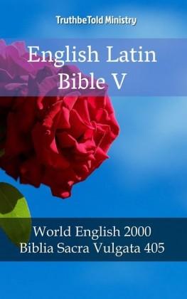 English Latin Bible V