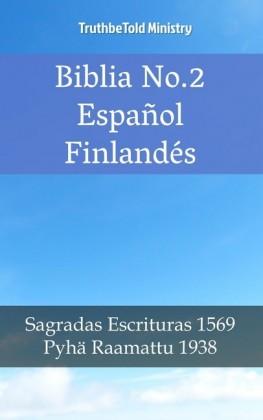 Biblia No.2 Español Finlandés