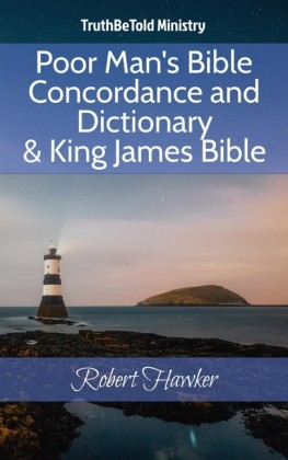 Poor Man's Bible Concordance and Dictionary & King James Bible
