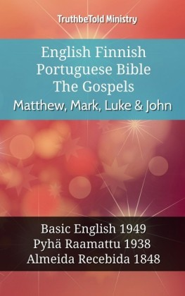 English Finnish Portuguese Bible - The Gospels - Matthew, Mark, Luke & John