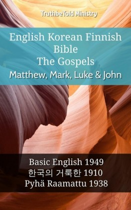 English Korean Finnish Bible - The Gospels - Matthew, Mark, Luke & John