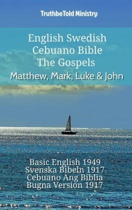 English Swedish Cebuano Bible - The Gospels - Matthew, Mark, Luke & John