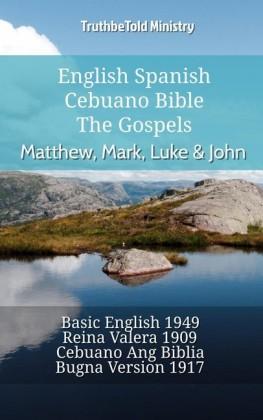 English Spanish Cebuano Bible - The Gospels - Matthew, Mark, Luke & John