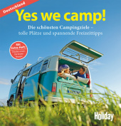 HOLIDAY Reisebuch: Yes we camp! Deutschland Cover