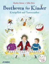 Beethoven für Kinder, m. Audio-CD Cover