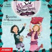 Die Vampirschwestern black & pink. Sturmfrei zur Geisterstunde, 2 Audio-CDs